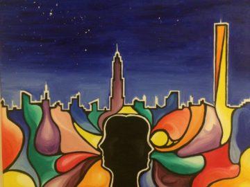 Sognando New York olio su tela 60x50 cm 2016 E. Nobile